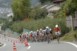 4th lap tazaki on the front me on the back.jpg
